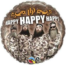 "18"" Duck Dynasty Happy Foil Balloon (Birthday)"
