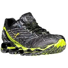 Mizuno Wave Prophecy 5 - Men's Running Shoes (BK/Safety YL/Silver Width:Medium)