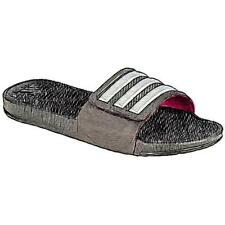 adidas Adissage 2.0 - Women's Casual Shoes (BK/Silver Metallic/Shock PK Width:M