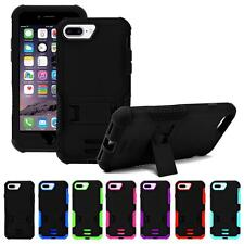 For IPhone 7 Plus Tough Hybrid Box Shockproof Rugged Kickstand Hard Case Cover