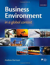 Business Environment In A Global Context By Harrison