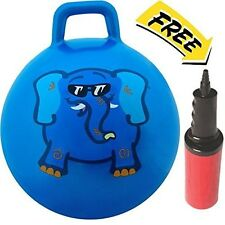 Waliki Jumping Hopper Hopping Hippity Hop Ball: Ages 3-6 (Blue)