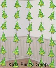Christmas Party - 6 Strings of Christmas Trees Decorations - Free Post in UK
