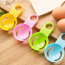 2pcs Egg Separator White Yolk Sifting Home Kitchen Chef Dining Cooking Helper