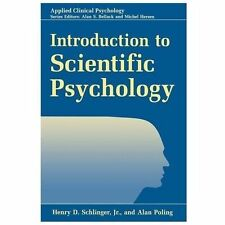 Introduction to Scientific Psychology by Alan Poling and Henry D. Jr....