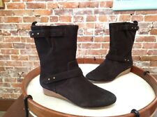 Matt Bernson Finley Chocolate Brown Suede Mid-calf Ankle Boots NEW