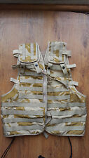 British Army Load Carrying Desert DPM Assault Vest