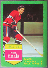 1973-74 O-Pee-Chee #197 Stanley Cup Playoff Finals Montreal Canadiens