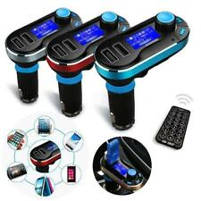 Wireless Car Kit FM Transmitter LCD Modulator MP3 Player SD USB Charge