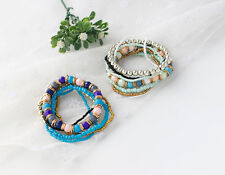 Fashion New 1PC National Wind Bohemian Beaded Bracelet European and American