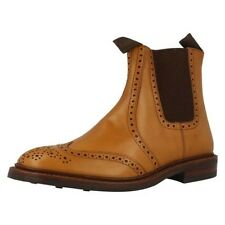 'Mens Loake' Rounded Toe Pull On Chelsea Boots - Thirsk