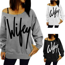 Letters European and American style sweater with new women's printed burst