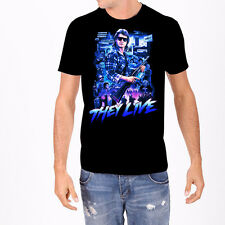 Rock Rebel They Live Roddy Piper Aliens Obey Collage Mens T Tee Shirt S-XL