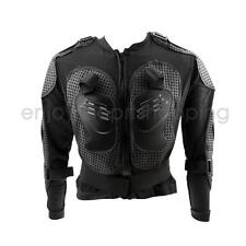 Motorcycle Motorcross Racing Full Body Armor Spine Chest Protector Jacket Black