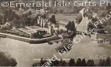 Mayo Cong Ashford Castle Hotel from the air Old Irish Photo - Size Selectable