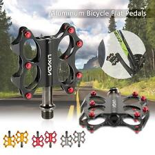 Bicycle Bike Road Bike Pedals Sealed Bearing Spindle Flat Platform Pedals G1I4
