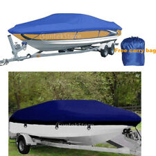 FISHING SKI BOAT COVER / STORAGE WATERPROOF & TRAILER-ABLE 17-19/14-16/20-22FT