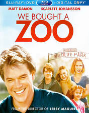 We Bought a Zoo (Blu-ray/DVD, 2012, 2-Disc Set)
