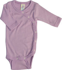 ENGEL Organic merino wool/silk Baby Body Bodysuit Vest Onsie Long Sleeve **SALE
