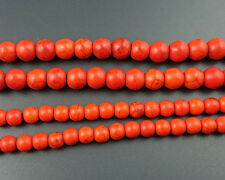 orange howlite turquoise gemstone beads round loose beads 4mm 6mm 8mm 10mm 12mm