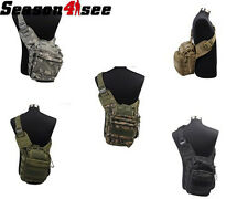 New Airsoft Tactical Molle Camo Utility Shoulder Saddle Bag Hiking Camping Pack