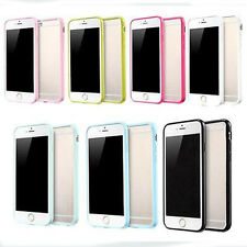 Hard Matte Clear Back Case Soft Silicone TPU Bumper Cover for iPhone 5 6 7 7plus