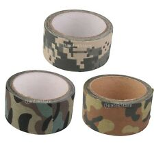10M ADHESIVE CAMO WRAP RIFLE/GUN HUNTING SHOOTING CAMOUFLAGE STEALTH TAPE