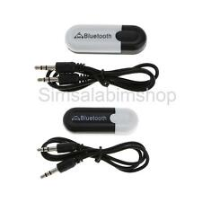 Bluetooth Wireless Speaker Receiver Adapter Dongle,3.5mm Audio Stereo Music USB