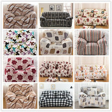 Sofa Cover Protector For 1/2/3/4 Seater Seater Streatche Plush Clover Printing