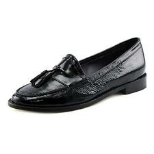 Vaneli Rona Women N/S Round Toe Patent Leather Black Loafer