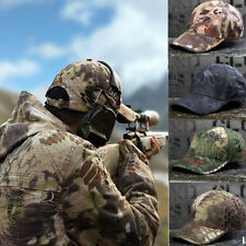 Mens Military Tactical Baseball Cap Army Operator Airsoft Cadet Camouflage Hat