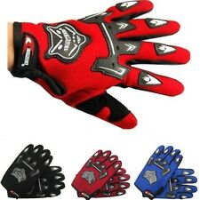Mens Cycling Cycle Full Finger Gloves Mountain Bicycle Bike Racing MTB BMX Mitts