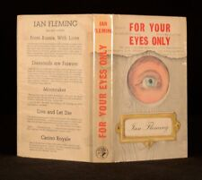 1960 James Bond For Your Eyes Only Dustwrapper First Edition