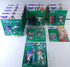 Lot of (12) 1994 to 1998 Football Starting Lineup Figures