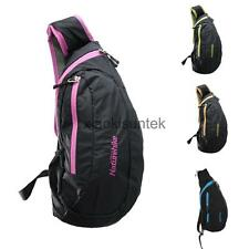 Waterproof Travel Hiking Messenger Shoulder Backpack Rucksack Sling Chest Bag