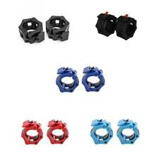 """2"""" Lock Collars Standard Olympic Barbell Weight Lifting Fitness Gym Workout 50mm"""