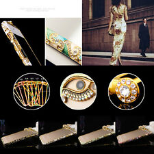 luxury Crystal Rhinestone Diamond Bling Metal Case Cover Bumper For Apple iPhone