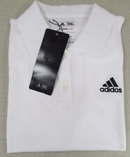 ADIDAS Golf Climalite Women's Performance Athletic Polo Shirt White Small NEW