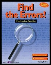 Find the Errors!: Proofreading Activities by Nancy Lobb Paperback Book (English)