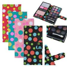 18 Colors Portable Eyeshadow Shimmer Palette & Cosmetic Brush Makeup Beauty Set