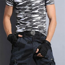 Thicken Lengthen Durable Men Skeleton Pattern Canvas Waistband Christmas Present