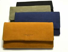 Liebeskind Berlin Wallet SLAM COIN Leather Flap Black, Honey, Mud Taupe