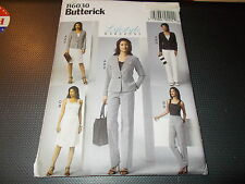 Butterick Pattern B6030 Ms LIFESTYLE WARDROBE Jacket~Top~Skirt~Pants  EASY