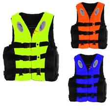 Adult Child Swimming Life Jacket Vest PFD Type Boating Fully Enclosed + Whistle