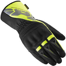 Spidi Alu-Pro H2OUT Black / Yellow Fluo Motorcycle Waterproof Gloves | All Sizes