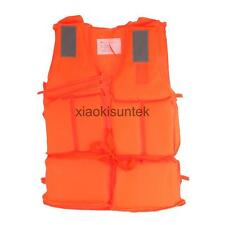 Kids Adults Water Sports Life Jackets Fishing Boating Floating Vest S/M/L/XL