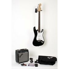 Squier Affinity Stratocaster Guitar Pack w/ 10G Amplifier Black 888365918747