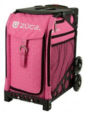 Zuca bag and frame Hot pink Diamante