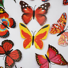 Home Decor Art Vinyl Design Decal Wall Stickers Room Decorations 3D Butterfly
