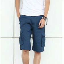 Mens Casual Cargo Shorts Military Style Work Baggy Pants Shorts 7 colors 28-38